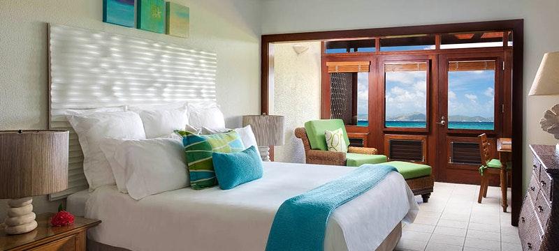 Ocean view room at Peter Island Resort & Spa, British Virgin Islands