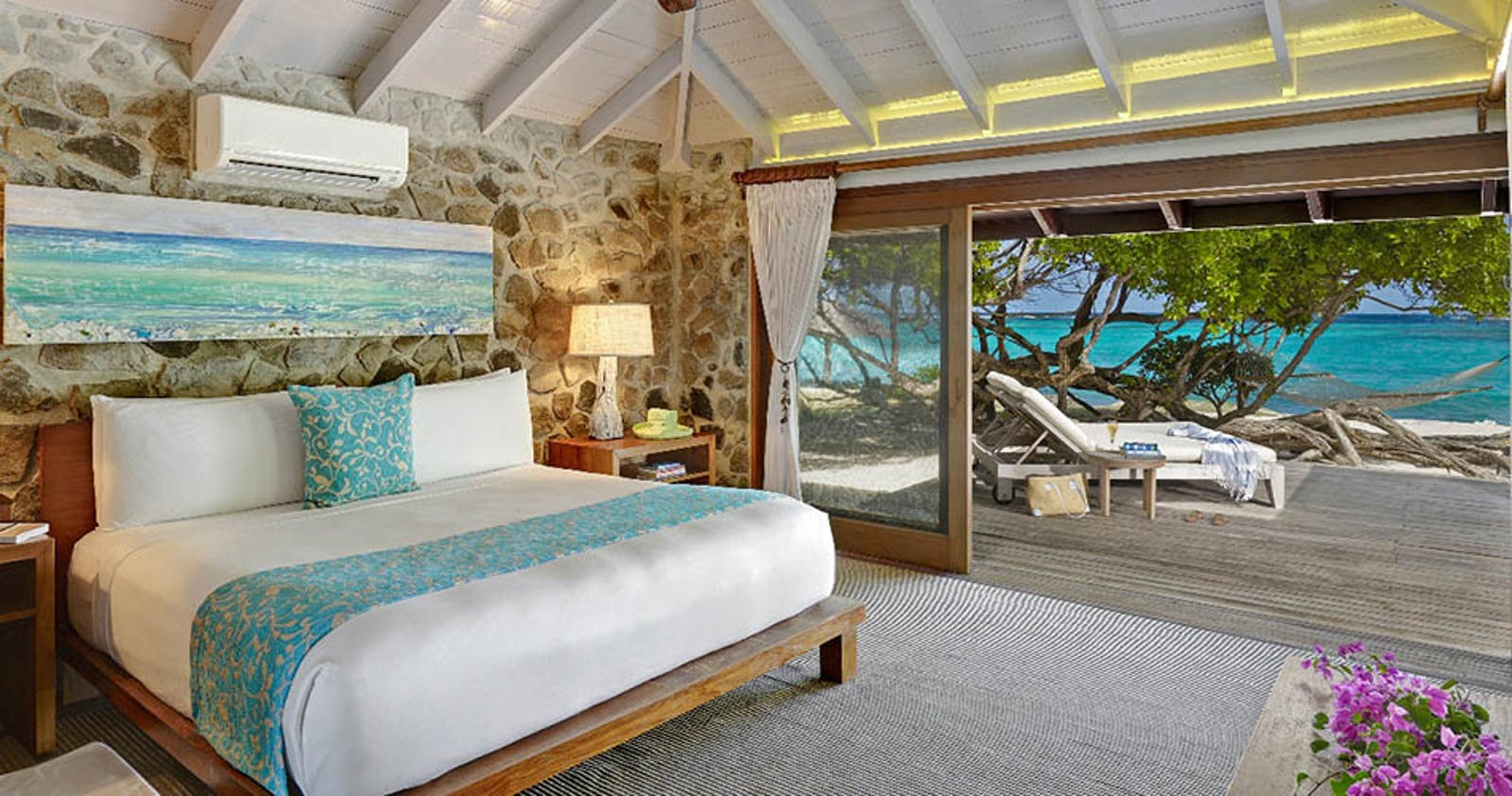 Two bedroom villa at Petit St. Vincent