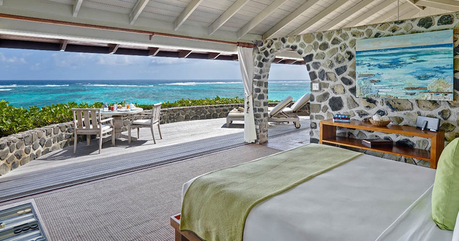 One bedroom cottage at Petit St. Vincent
