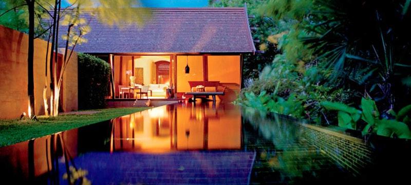 Private pool at Phulay Bay, Thailand