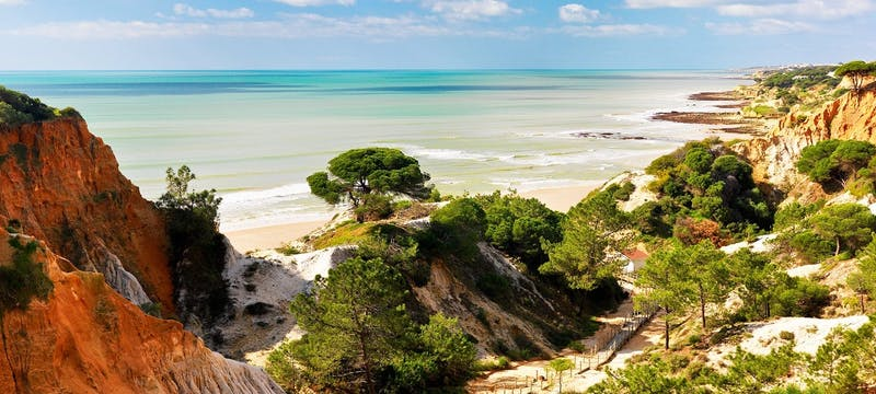 the beach at pine cliffs a luxury collection resort algarve