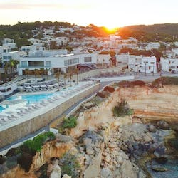 Exterior of Seven Pines Resort, Ibiza