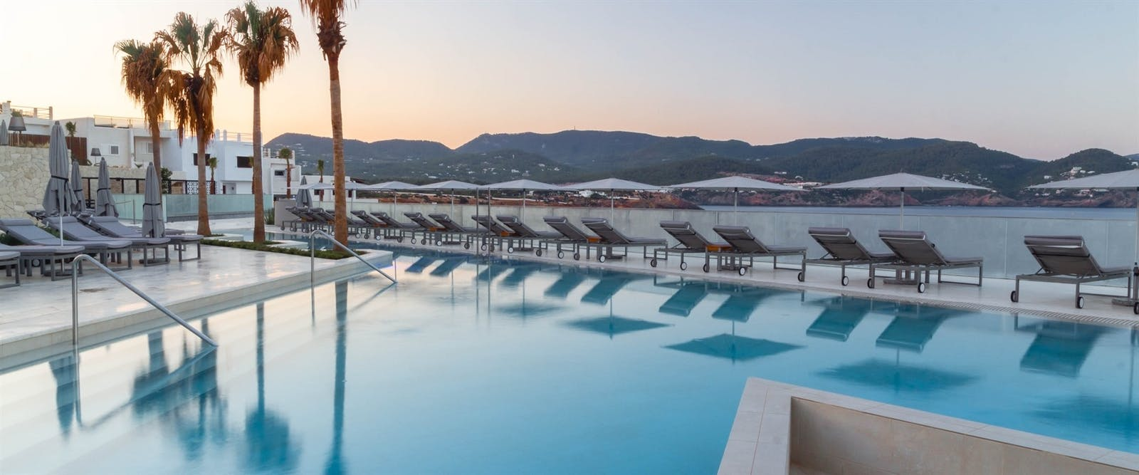 Infinity Pool at Seven Pines Resort, Ibiza, Spain