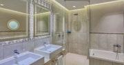 Bathroom at Pineta Forte Village