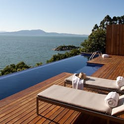 Private pool and terrace, Ponta dos Ganchos Exclusive Resort