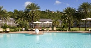 Pool side exterior at The Inn at English Harbour, Antigua