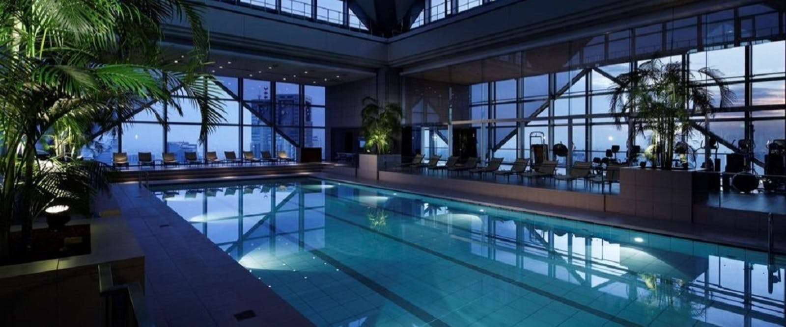 Swimming Pool at Park Hyatt Tokyo, Japan