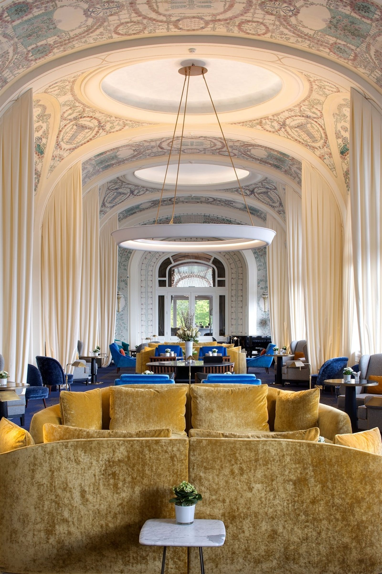 Le Salon, Hotel Royal, Evian Resort, Lake Geneva, France