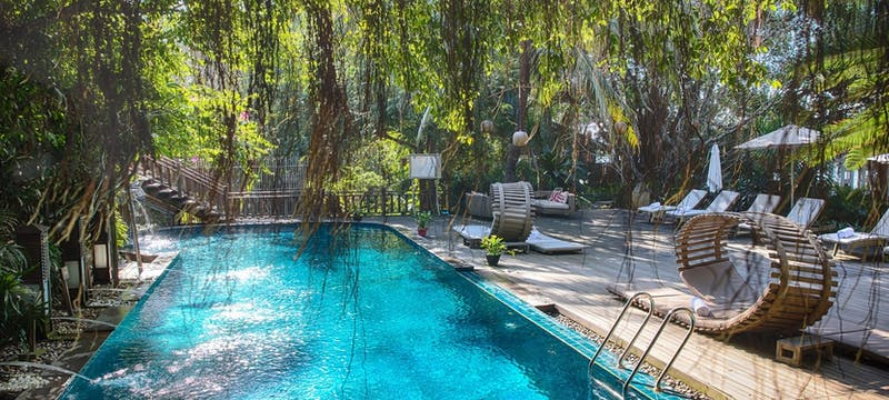Swimming pool at An Lam Retreats Saigon River