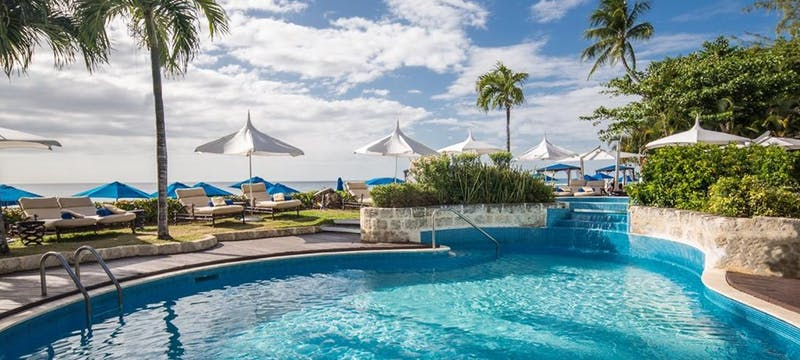 Main pool area at The House by Elegant Hotels, Barbados