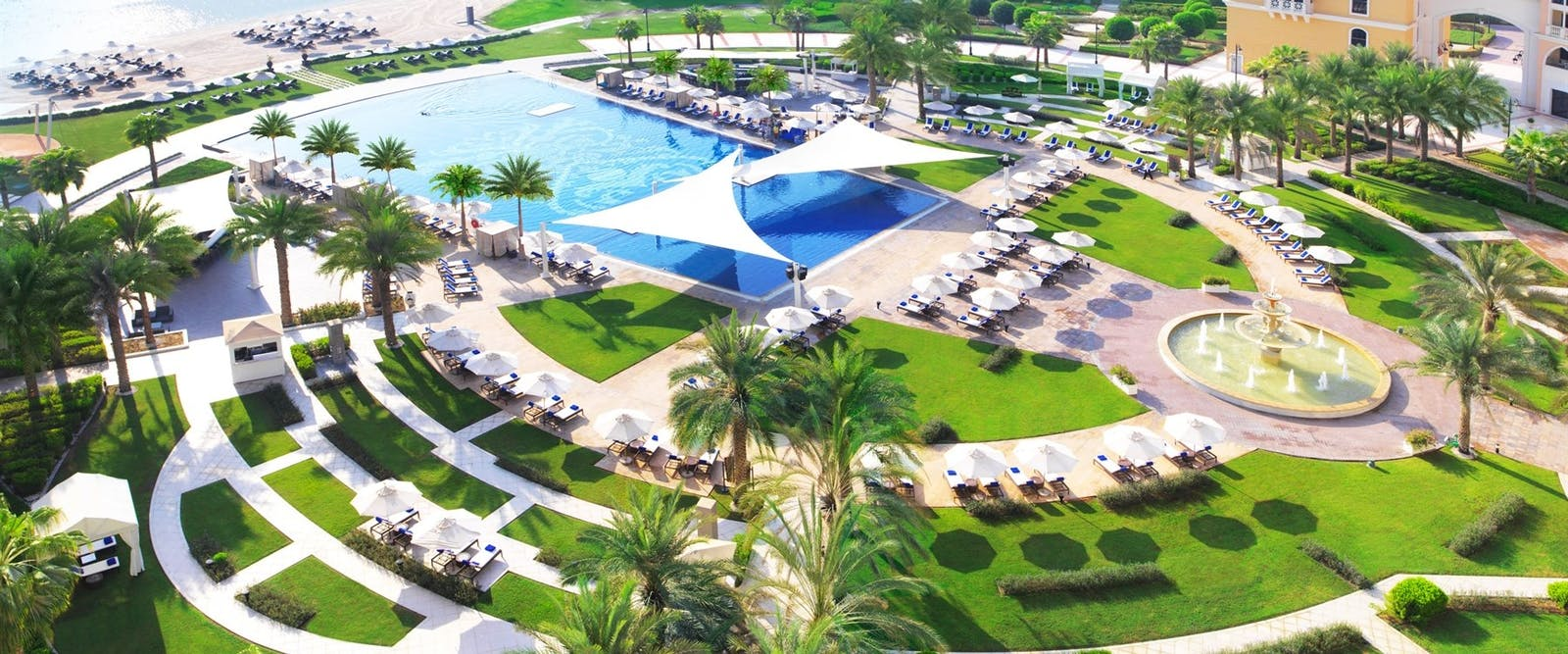 Pool Beach at Ritz Carlton Abu Dhabi, Grand Canal