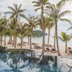 Swimming pool at JW Marriott Phu Quoc Emerald Bay Resort & Spa, Vietnam