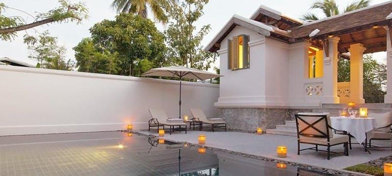 Pool suite at Amantaka, Laos