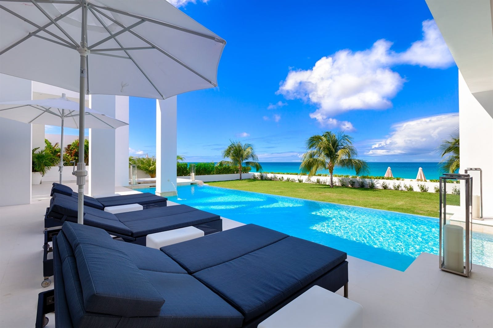 the pool at the beach house anguilla