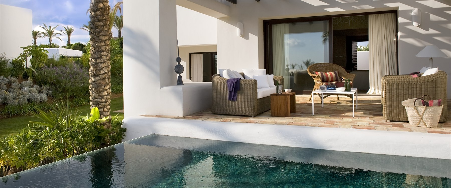 Pool villa at Finca Cortesin, Costa del Sol