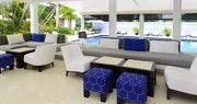 Casual poolside restaurant, Indigo, at Montpelier Plantation & Beach