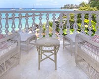 Ocean Front Suite Terrace at Cobblers Cove, Barbados