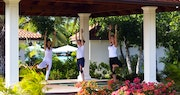 sense spa yoga pavilion at jumby bay a rosewood resort antigua