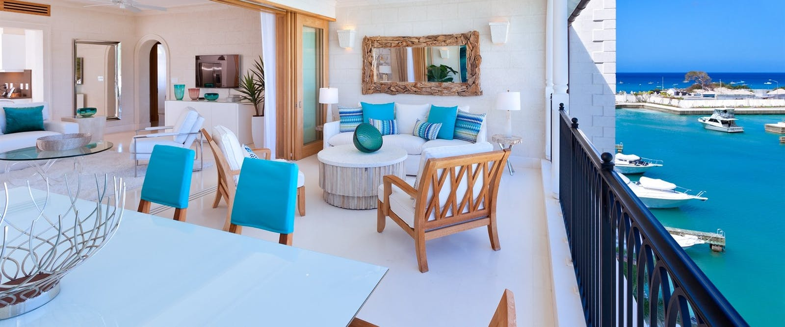 Residence Patio at Port Ferdinand Marina & Luxury Residences, Barbados