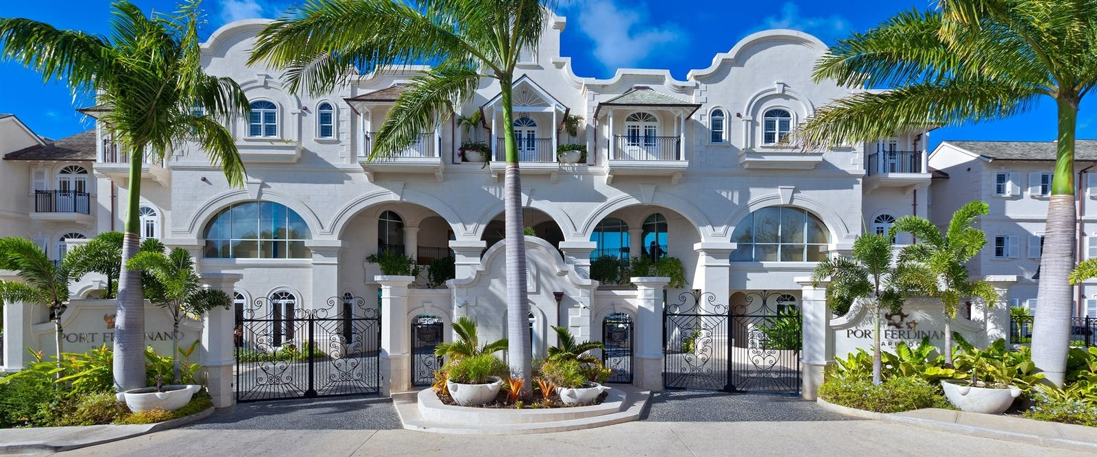 Entrance to Port Ferdinand Marina & Luxury Residences, Barbados