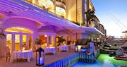 Dine next to the waters bay at Port Ferdinand Marina and Luxury Residences, Barbados