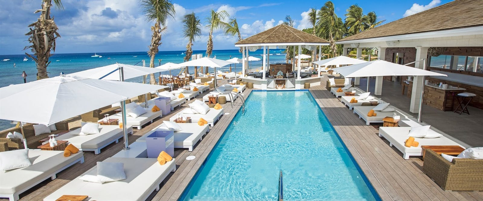 Nikki Beach Pool at Port Ferdinand Marina & Luxury Residences, Barbados
