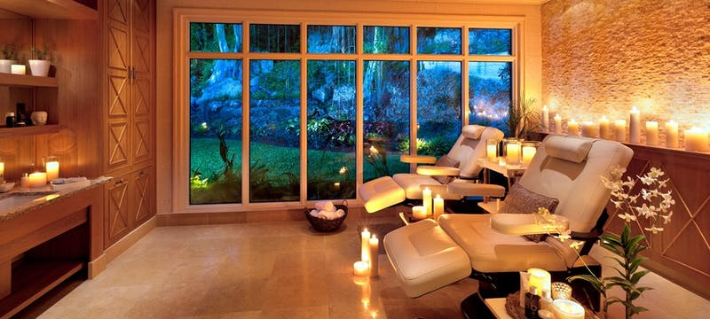 Tranquil spa at Port Ferdinand Marina and Luxury Residences, Barbados