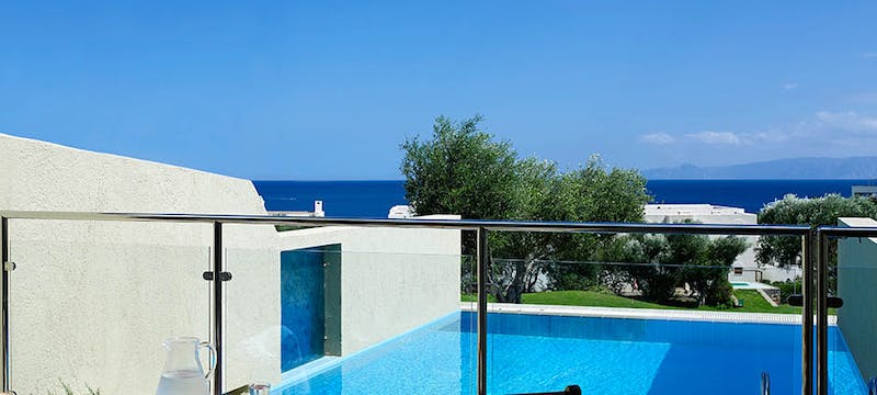 Pool at Porto Elounda Golf & Spa Resort, Crete