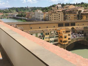Ponte Vecchio Suite Terrace at Portrait Firenze, Florence, Italy