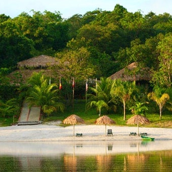 Exterior of Amazon Eco Park Jungle Lodge, Brazil