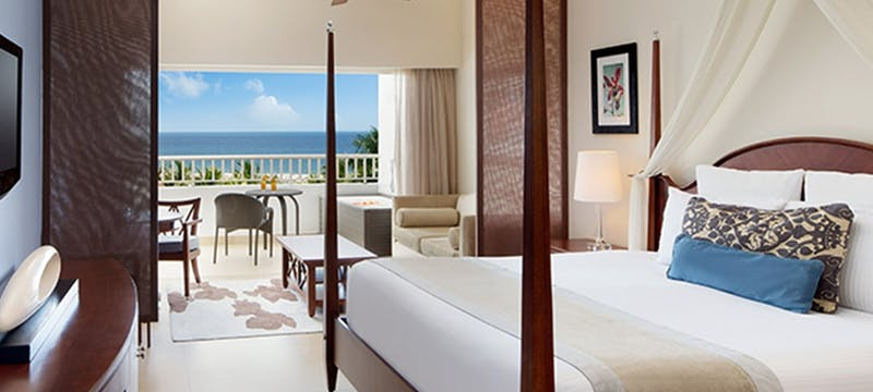 Preferred club junior suite with ocean view at Secrets St James Montego Bay