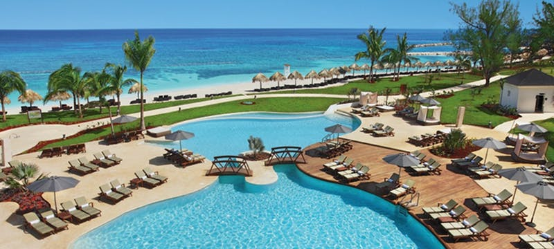 Preferred club swimming pool at Secrets St James Montego Bay