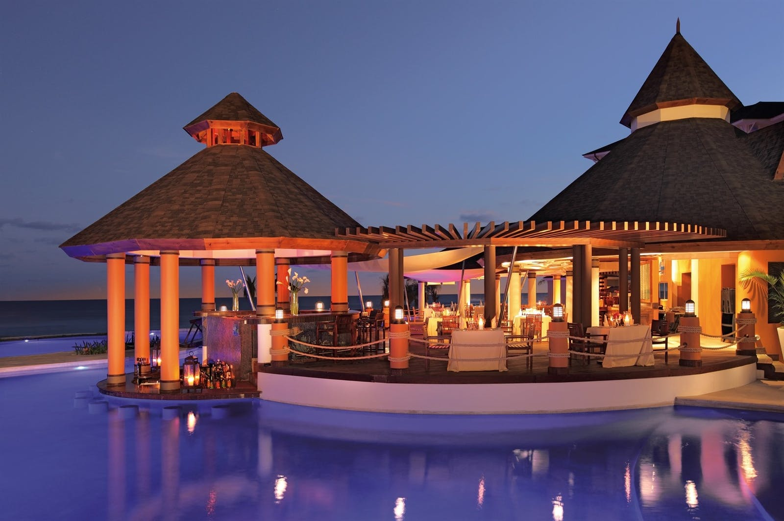 Restaurant at Secrets Wild Orchid Montego Bay, Jamaica
