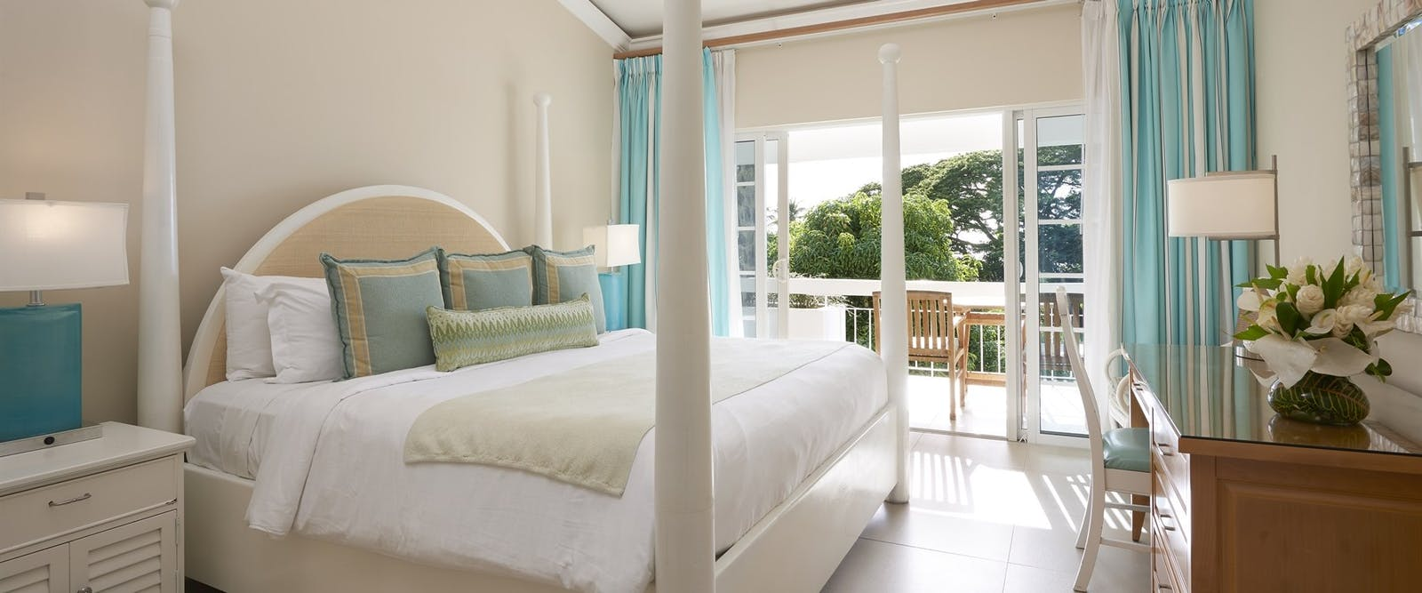 Premium Bedroom with Garden View at Rendezvous, St Lucia