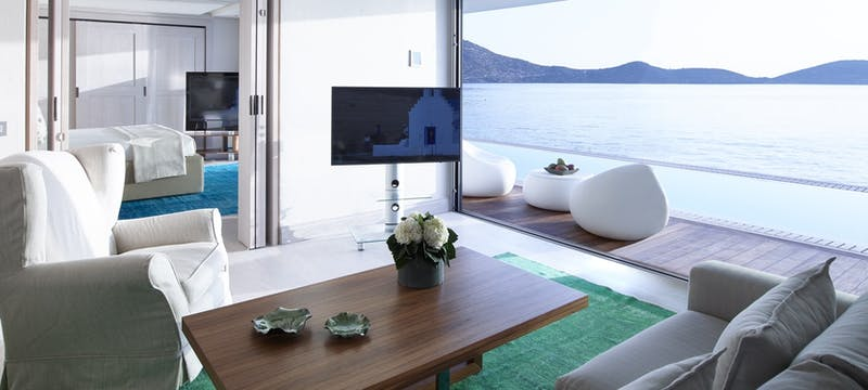 Presidential Bungalow Suite with Private Pool at Elounda Beach Hotel & Villas. Crete, Greece