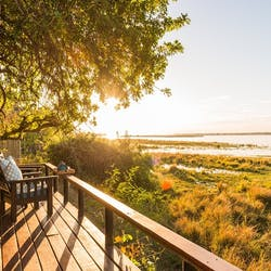 Decking View at Royal Zambezi Lodge, Zambia