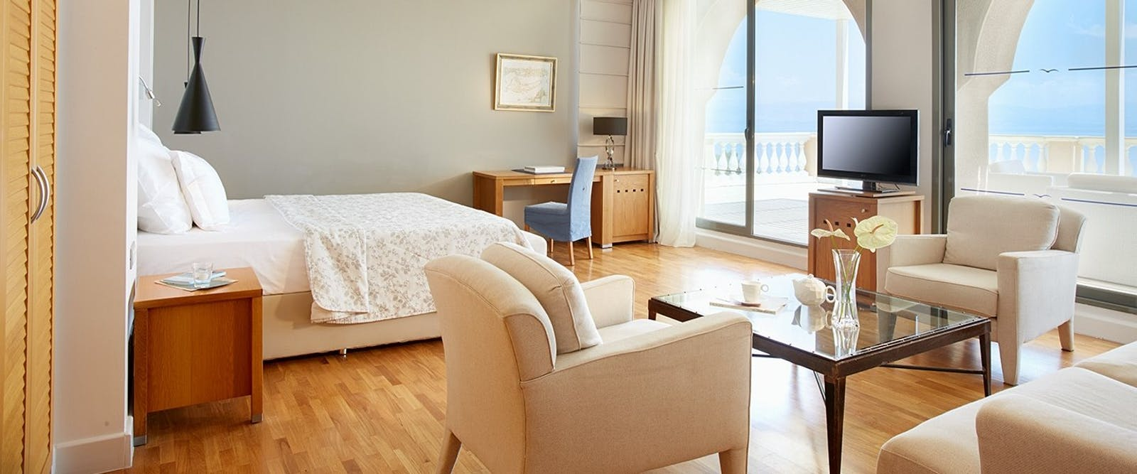 Presidental Suite at Marbella Corfu, Cyprus