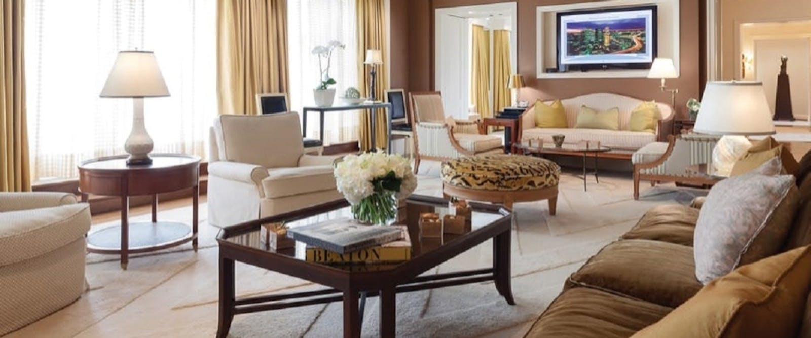 Presidential Suite at Four Seasons Hotel Boston, New England