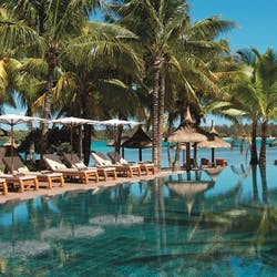 Lap pool at Constance Prince Maurice, Mauritius