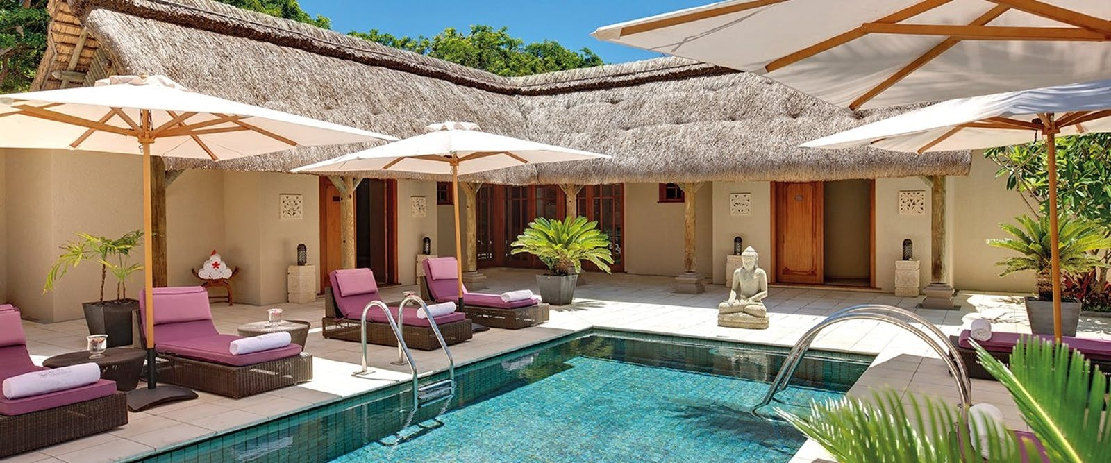 Spa at Constance Prince Maurice, Mauritius