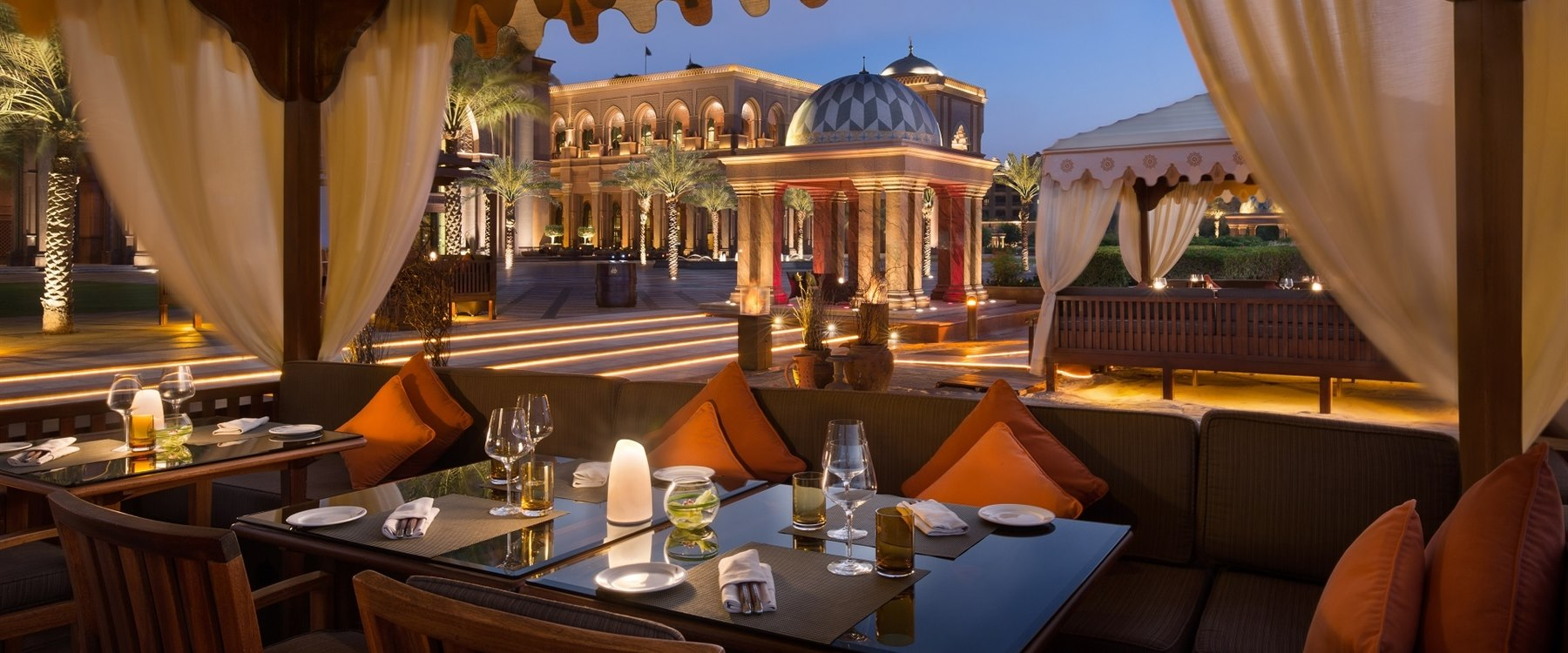 BBQ Al Qasr at Emirates Palace, Abu Dhabi