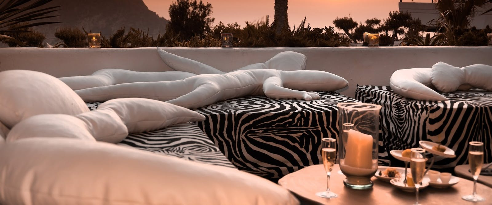 Private Event Lounge at Hotel Hacienda Na Xamena, Ibiza, Spain