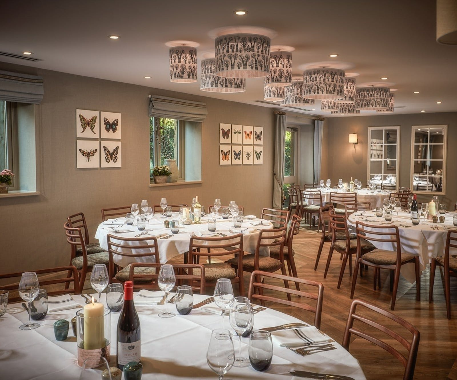 Private Dining at The Fish, Farncombe Estate, England, UK