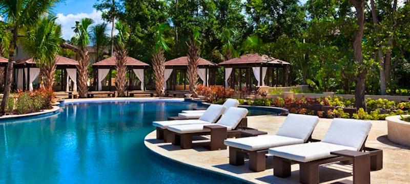 Pool area at The St Regis Bahia Beach Resort, Puerto Rico