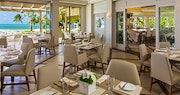 The Beach Club Restaurant, bounded by spectacular views at The St Regis Bahia Beach Resort, Puerto Rico