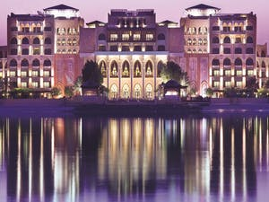 Beautiful Exterior of Shangri-La Qaryat Al Beri