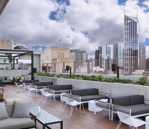 Rooftop bar, QT Melbourne