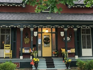 Exterior of Quartermain House B&B, Fredericton