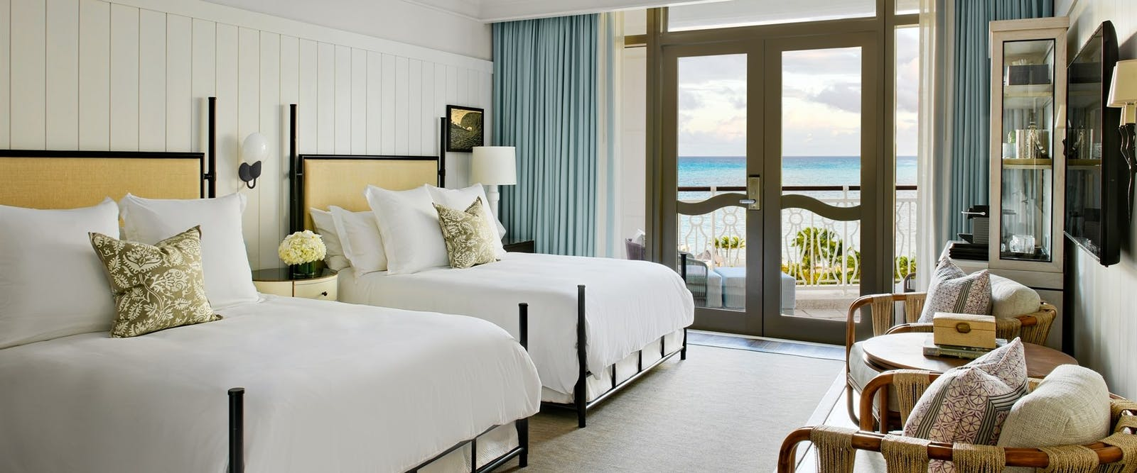 Queen Room at Rosewood Baha Mar, Bahamas, Caribbean