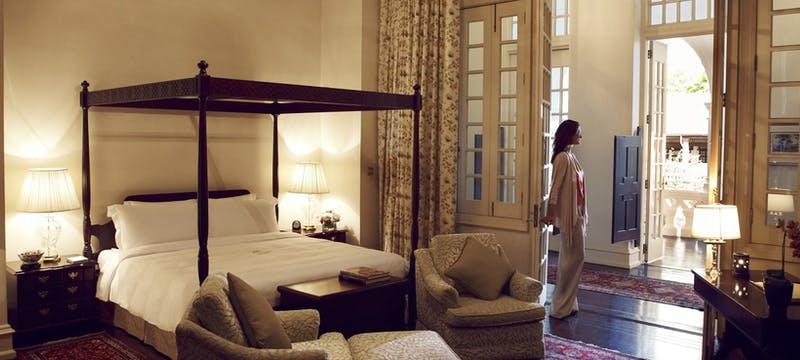 Presidential suite  at Raffles, Singapore